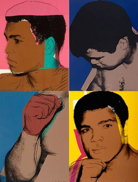 Andy Warhol, Muhammad Ali (FS II.179-182), 1978