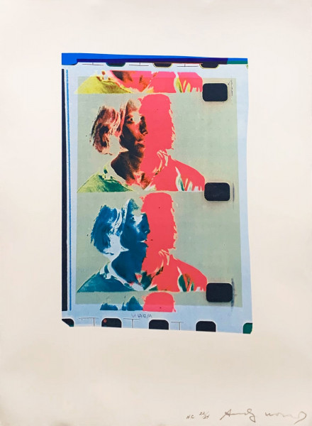 Andy Warhol, Eric Emerson (Chelsea Girls) (FS II.287), 1982