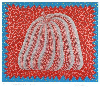 Yayoi Kusama, Pumpkin (II) (K.283), 2000