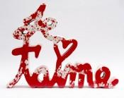 Je t'aime Splash red