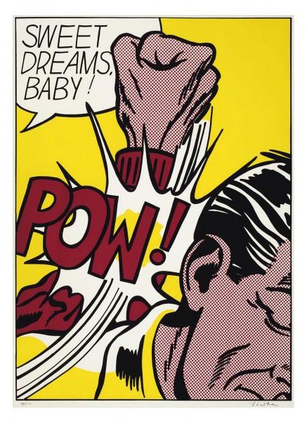 Roy Lichtenstein, Sweet Dreams Baby, 1965