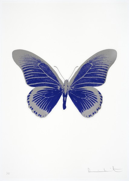 Damien Hirst, The Souls IV - Westminster Blue/Silver Gloss, 2010