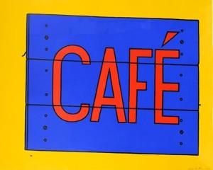 Cafe Sign von Patrick Caulfield