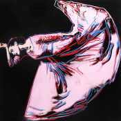 "Letter to the World (The Kick) (FS II.389) from the Portfolio ""Martha Graham"""