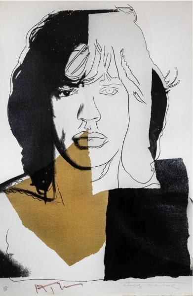 Andy Warhol, Mick Jagger (FS II.146), 1975