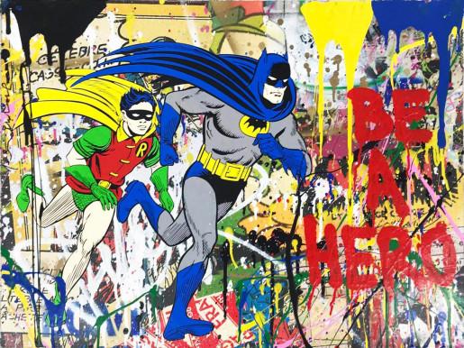 Mr. Brainwash, Batman & Robin, 2018