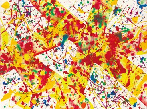 Sam Francis, Untitled SF92-55 (Acrylic), 1992