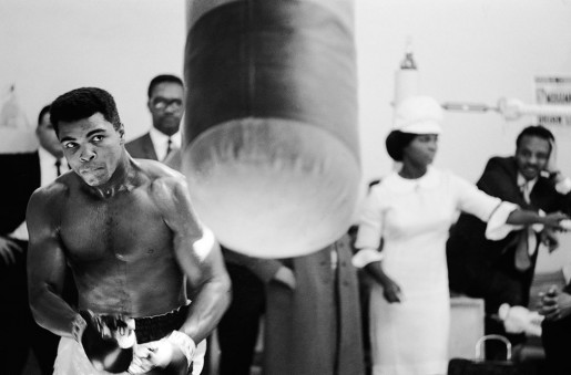 Thomas Hoepker, Ali Training Prior to a Fight, 1966