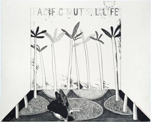 David Hockney, Pacific Mutual Life, 1964