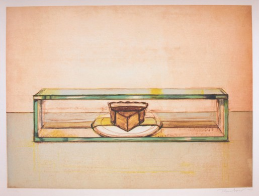 Wayne Thiebaud, Pie Case, 2002