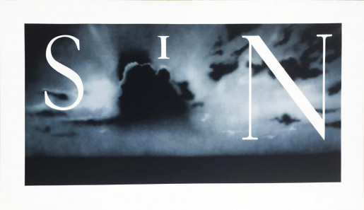 Ed Ruscha, Sin - Without, 2002