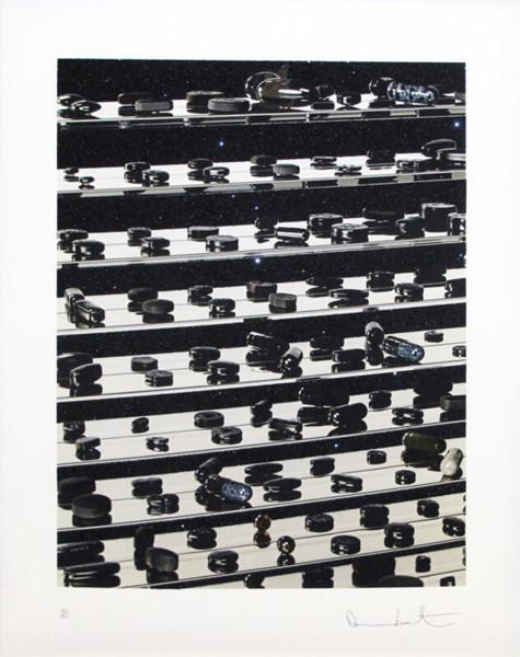 Damien Hirst, Dead Black Brilliant Utopia, 2013