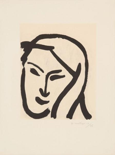 Henri Matisse, Bédouine au Voile Dénoué, 1947