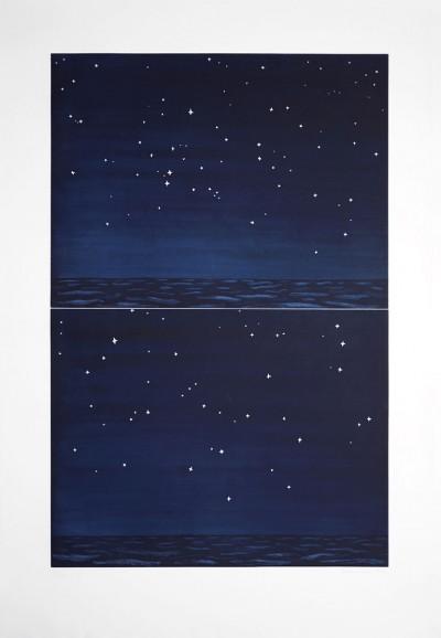 Richard Bosman, Night Sky, 1990