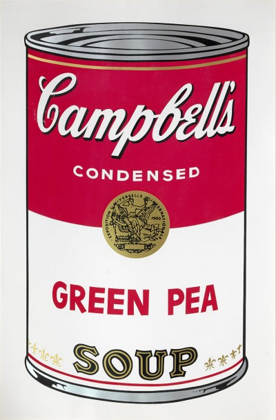 """Andy Warhol, Green Pea (from """"Campbell's Soup I""""), 1968"""