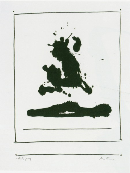 Robert Motherwell, New York International: Untitled, 1966