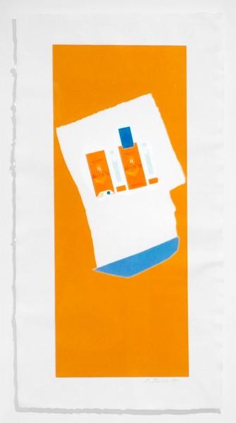 Robert Motherwell, Harvest with Blue Bottom (Summer Light Series), 1973