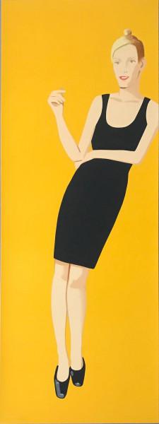 Alex Katz, Black Dress 3 (Oona), 2015
