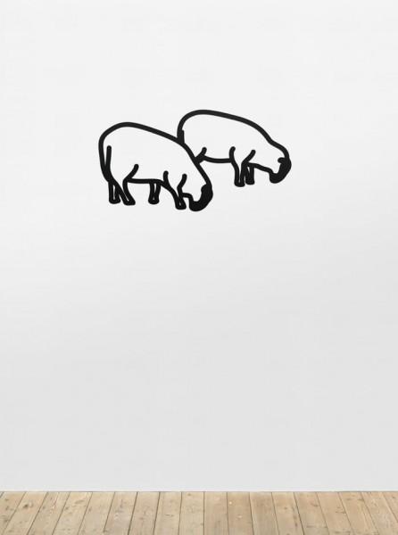Julian Opie, Sheep 3, from Nature 1 Series, 2015