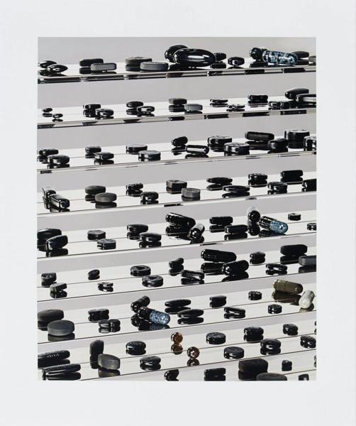 Damien Hirst, Black Brilliant Utopia, 2013
