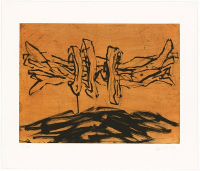 Georg Baselitz - From: Winterschlaf I - X
