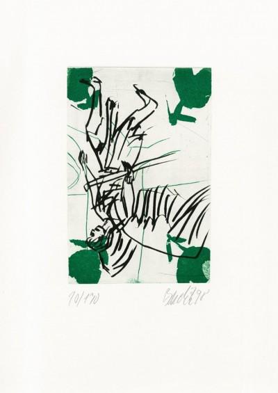 Der Bote (Heinrich Heil) von Georg Baselitz