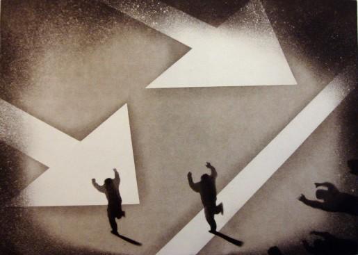 Juan Genoves, Silencio, Silencio: Direccion unica, 1970