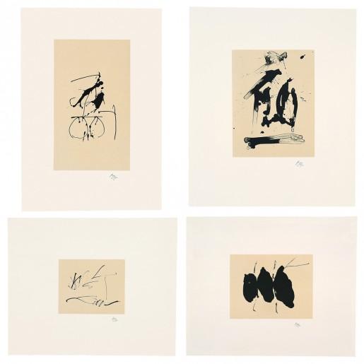 Robert Motherwell, Octavio Paz, Three Poems, The Limited Editions Club, New York, 1988