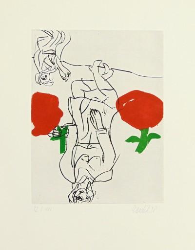 Georg Baselitz, Bohemian Woman | Böhmische Frau, 1998