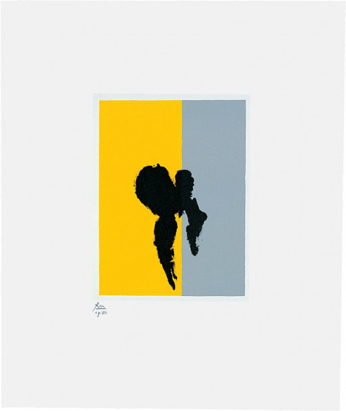 Robert Motherwell, Paris Suite II (Summer), 1980