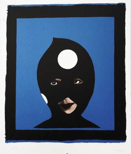 Marcel Dzama, Warhol's Pawns - Blue, 2013