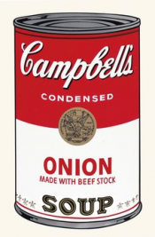 "Onion (FS II.47) from the Portfolio ""Campbell's Soup"""