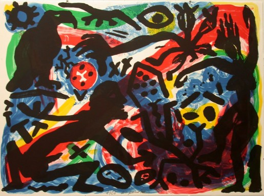 A.R. Penck, The Situation Now, California, 1992