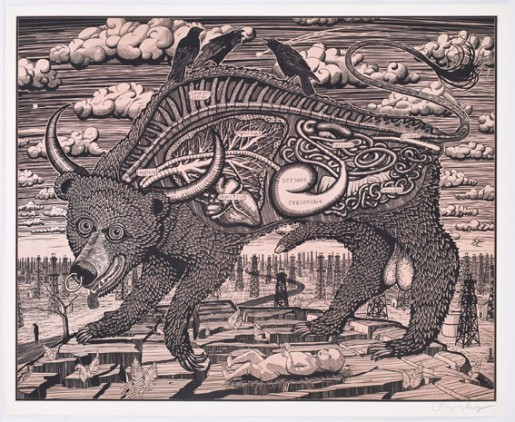 Grayson Perry, Animal Spirit (pink), 2016