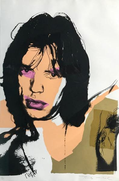 Andy Warhol, Mick Jagger (FS II.141), 1975