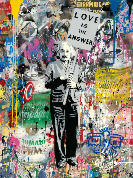 Mr. Brainwash, Einstein, 2019