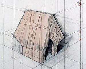 Wrapped Snoopy House von Christo