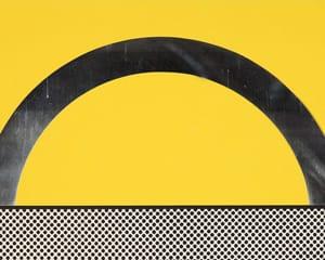 """Landscape 7 from """"Ten Landscapes"""" (C 51-60) von Roy Lichtenstein"""