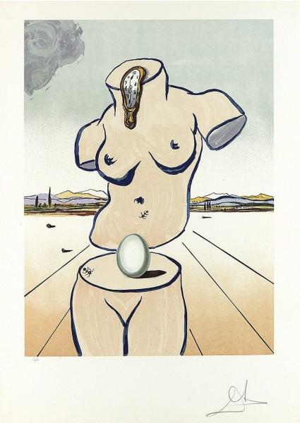 Salvador Dalí, Birth of Venus, 1979