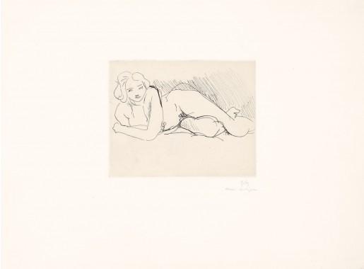 Henri Matisse, Nu couché, 1929