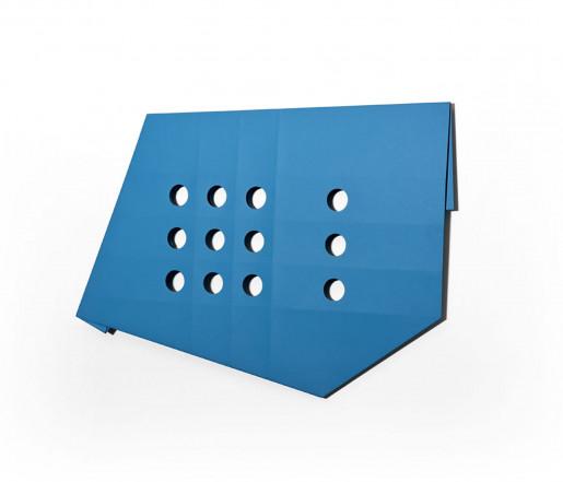 Sébastien de Ganay, Blue Folded Flat 03, 2015
