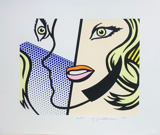 Roy Lichtenstein, Untitled Head, 1995