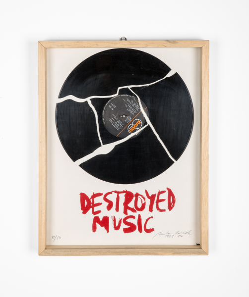Milan Knížák, Destroyed Music, 1963-1980