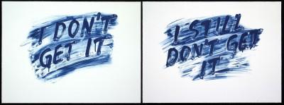 I Dont Get It / I Still Dont Get It von Mel Bochner