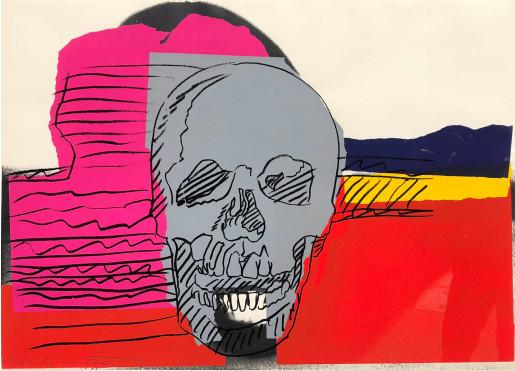 Andy Warhol, Skulls (FS II.159), 1976