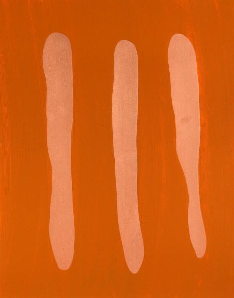 Günther Förg, Mr. Orange, 2002