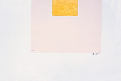 Robert Motherwell, London Series II: Untitled (Orange/Pink), 1971