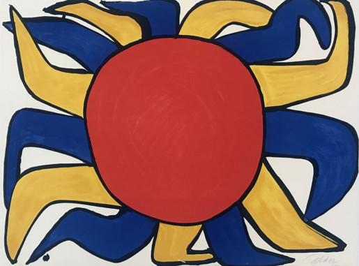 Alexander Calder, Our Unfinished Revolution: Sun, 1975-1976