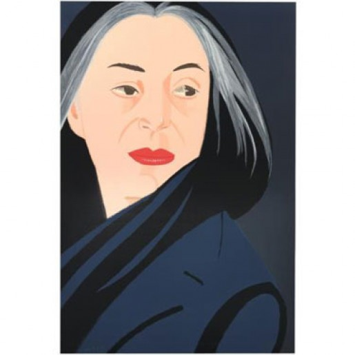 Alex Katz, Black Scarf, 1996