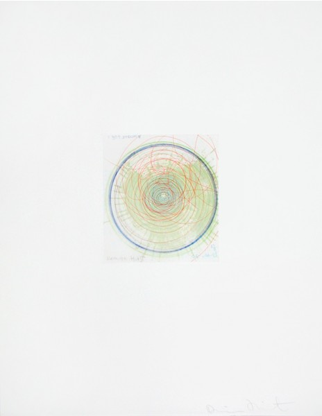Damien Hirst, I Get Around, from In A Spin Series, 2002